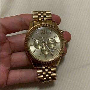Gold Michael Kors Men's Watch